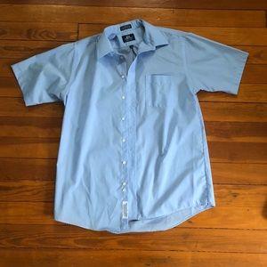 Stafford Blue Dress Shirt